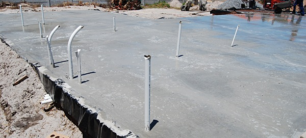 conduits in slab