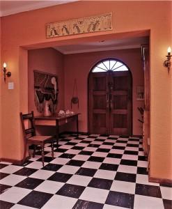 vinyl tiled floor