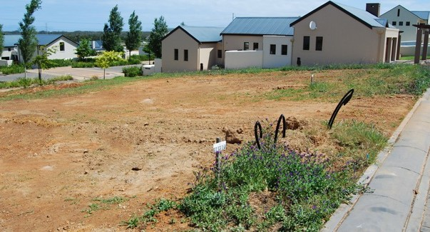 Site ready for building