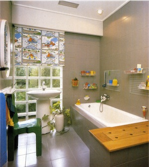 Plan your bathroom for children